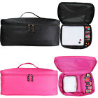 NYK1 Professional Large Make-Up Bag Vanity Case Box Cosmetic Nail Tech Storage for sale  Shipping to Ireland