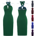 NEW CHEAP SEXY 50's Vtg Audrey Belted S Swing Rockabilly Pinup Bridesmaid dress