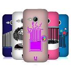 HEAD CASE DESIGNS BARCODE PLAY HARD BACK CASE FOR HTC ONE MINI 2