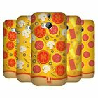 HEAD CASE DESIGNS PIZZA TOPPING PATTERN HARD BACK CASE FOR HTC ONE M8 M8S