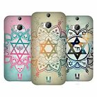 HEAD CASE DESIGNS STAR OF DAVID HARD BACK CASE FOR HTC ONE M8