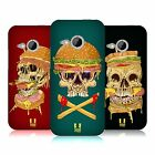 HEAD CASE DESIGNS SKULL SANDWICHES HARD BACK CASE FOR HTC ONE MINI 2