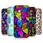 HEAD CASE DESIGNS VIVID PRINTED JEWELS HARD BACK CASE FOR HTC ONE M8