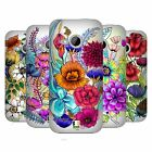 HEAD CASE DESIGNS WATERCOLOURED FLOWERS HARD BACK CASE FOR HTC ONE MINI 2