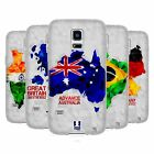 HEAD CASE DESIGNS GEOMETRIC MAPS SOFT GEL CASE FOR SAMSUNG GALAXY S5 MINI