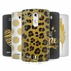 HEAD CASE DESIGNS GRAND AS GOLD SOFT GEL CASE FOR LG G3