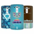 HEAD CASE DESIGNS HANUKKAH SOFT GEL CASE FOR LG G3