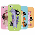 HEAD CASE DESIGNS LONG ANIMALS SOFT GEL CASE FOR APPLE iPHONE 5 5S SE