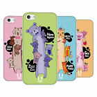 HEAD CASE DESIGNS LONG ANIMALS SOFT GEL CASE FOR APPLE iPHONE 5C