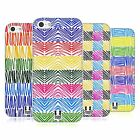 HEAD CASE DESIGNS SCRIBBLE PATTERNS SOFT GEL CASE FOR APPLE iPHONE 5C