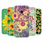 HEAD CASE DESIGNS SUNFLOWER SOFT GEL CASE FOR HTC ONE MINI 2