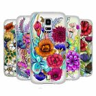 HEAD CASE DESIGNS WATERCOLOURED FLOWERS SOFT GEL CASE FOR SAMSUNG GALAXY S5 MINI