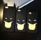 Slim 3D Cool Hero Black Batman Soft Silicone Back Case Cover For Various Phones