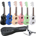 "21"" Ukulele Mini Hawaiian Guitar 4-String 12 Frets Musical Instrument Basswood"