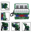 Mini Small 17-Key 8 Bass Accordion Educational Musical Instrument Toy A9N1