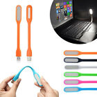 Flexible Silicone USB LED Light Lamp For keyboard Reading Notebook Laptop PC Mac