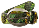 Renato Balestra Astrotia Python Leather Womens Belt