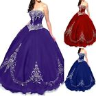 New Quinceanera Dress Prom Party Pageant Ball Bridal Gown Wedding Dresses Custom