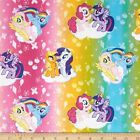 MY LITTLE PONY :  Ombre toss : 100% LICENSED cotton : by the 1/2 metre