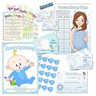 Fun Baby Shower Games Selection - Boy, Blue - All in one Listing!