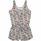 Pyjamas Teens Ladies Short (sz 8-18) Pjs Grey Barbie Onesie Sz 8 10 12 14