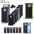 2 x Ultra Shockproof Protective Thin Rugged Cover Case for Samsung Galaxy S6