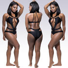 Sexy Women One-Piece Push Up Bikini Bandage Monokini Swimsuit Bathing Swimwear