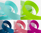 New 25 METRES DOUBLE SIDED SATIN RIBBON 3mm 6mm 10mm 16mm 25mm 38mm 50mm