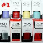 CND Shellac GelColor Nail Polish /Base /Top /Brand New Gel Color 1 - Choose Any
