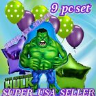 INCREDIBLE HULK S-A Avengers Marvel Heroes Balloon Birthday Party Supplies lot