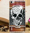 Halloween Skull Printing Ultra Thin PC Hard Back Case Cover For Huawei Phones