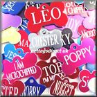 Deep Engraved Large Small Dog Puppy / Cat/Kitten Collar Pet ID Color Disc Tags !