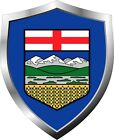 Alberta Flag Shield Decal / Sticker