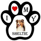 Sheltie Dog Paw Decal / Sticker