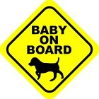 Baby On Board Dog Decals / Stickers