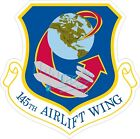 Air National Guard 145th Airlift Wing Decal / Sticker