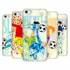 HEAD CASE DESIGNS MOVIMIENTOS GEOMÉTRICOS DEL FÚTBOL CASO PARA APPLE iPHONE 5C