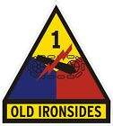 U.S. Army 1st Armored Division Old Ironsides Decal / Sticker