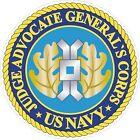 United States Navy JAG Judge Advocate General Decal / Sticker