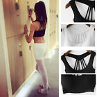 Hot Women Body Shaper Slimming Vest Fast Dry Sports Yoga Fitness Tank Top