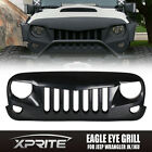 Eagle Eye Matte Black Front End Angry Grill Grille Grid for 07-17 Jeep Wrangler - Time Remaining: 9 days 15 hours 57 minutes 56 seconds