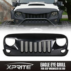 Eagle Eye Matte Black Front End Angry Grill Grille Grid for 07-17 Jeep Wrangler - Time Remaining: 2 days 14 hours 57 minutes 57 seconds