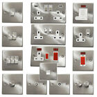 Satin Chrome Light Switches & Plug Sockets