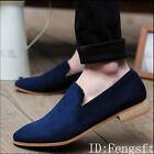 British 2016 NEW Men's Casual Lace Slip On Loafer Shoes Moccasins Driving Shoes