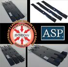 "BORON MOWER BLADES TO SUIT ARIENS RIDE ON MOWERS 52"" 60"" 72"" DECKS"