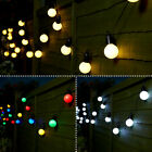 4.75M FESTOON GLOBE OUTDOOR GARDEN PARTY WEDDING FAIRY STRING LIGHTS, 20 LEDS