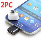 2 x Micro USB USB 2.0 Male to Female Adapter OTG Converter Android Tablet Phone