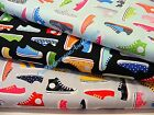 HIGH TOP SNEAKERS & TENNIS SHOES FABRIC~3 COLORS TO PICK~BY THE 1/2 YD~R KAUFMAN