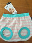 Baby Bonds pink striped babytails pants BNWT- Size 00  RRP $12.95. FREE POST!