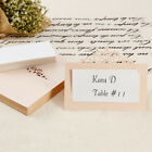 Wedding Party Pearlescent Laser Cut Champagne Crown Place Cards Table Name